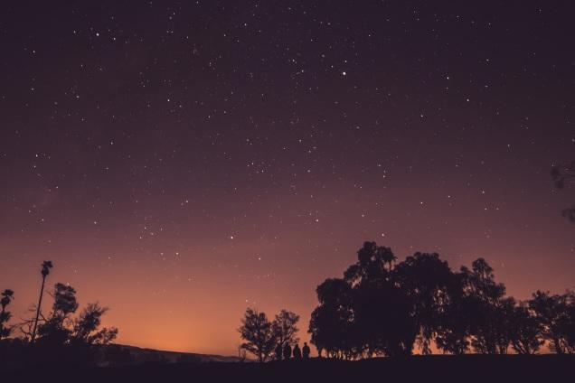 sky-sunset-night-space